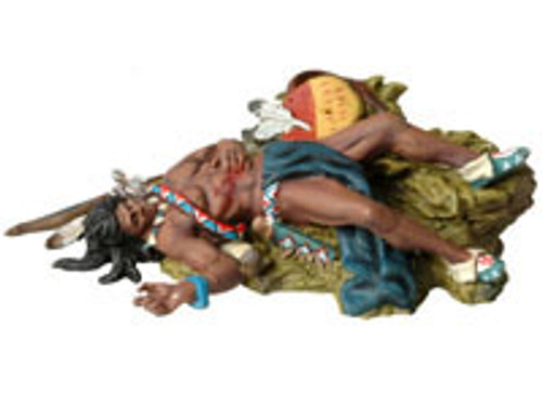 Andrea Black Hawk BH0123 Dead Sioux laying on the Ground