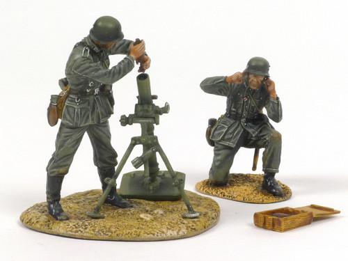 First Legion GERSTAL044 German Heer Infantry 80mm Mortar Team