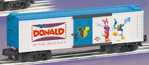 American Flyer Lionel  6-48351 Donald Duck Boxcar S Gauge