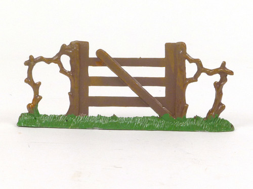 Hornung Art Miniature Metal Cast Gate with Grass base 64M Hand Painted