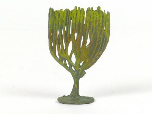 Hornung Art Miniature Metal Cast Medium Candelabra Shaped Bush 43S Hand Painted