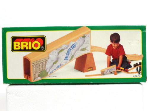 Brio Toys 33473 Wooden Railway Train Mine Tunnel