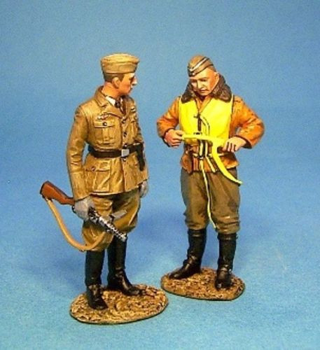 John Jenkins Designs Soldiers The Spanish Civil War Tank COND-06 Pilot And NCO Of Luftwaffe Signals Unit
