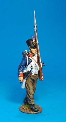 John Jenkins Designs PFL-05B French Line Infantry 1807 Fusilier Marching No 1B
