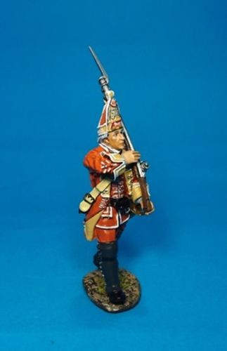 John Jenkins Designs QB-40 British 35th Regiment Of Foot Grenadier Marching#3 1/30 Scale