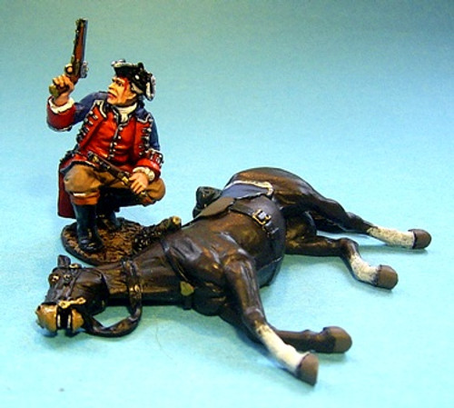 John Jenkins Designs JJCLUBSET8 Captain Robert Stewart with Wounded Horse Limited edition 1/30 Collectible