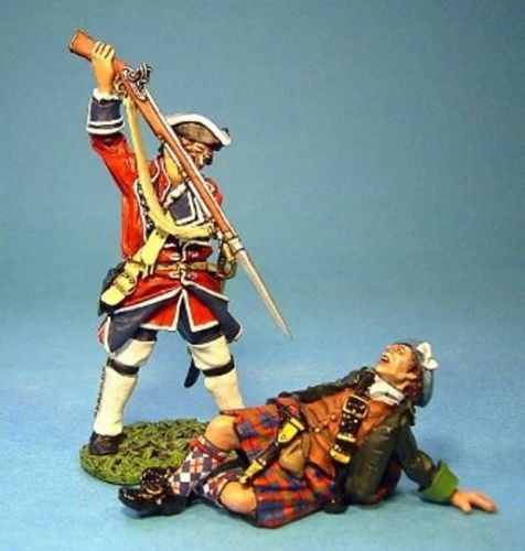 John Jenkins Designs Soldier JR-18 Wounded Highlander And Line Infantry