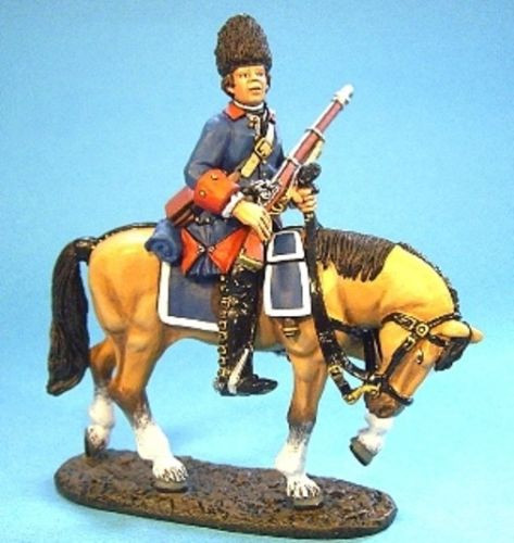 John Jenkins Soldiers QFCAV-01 Plains Of Abraham French Corps De Cavalerie 1/30 Collectible