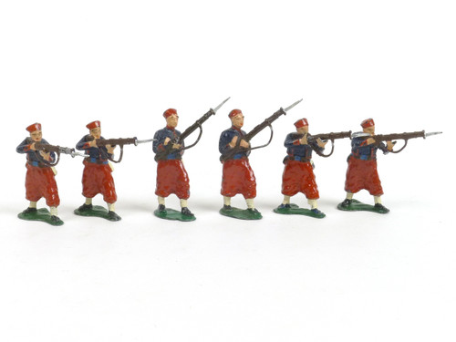Authenticast French Zouaves Firing Loading WWI 1914