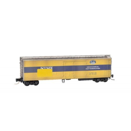 Micro-Trains 54844030 New York Central Weathered Reefer Z Scale Model Trains