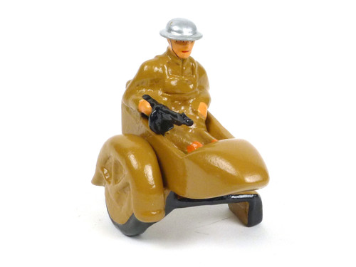 Holt's Hobbies H-SC1 Side Car Carrying Doughboy with Tommy Gun Dimestore Figure