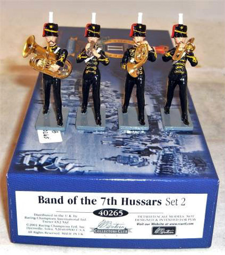 Copy of W Britain Collectors Club #40265 Band of the 7th Hussars set 2