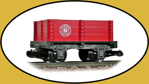 Hartland Locomotive Works Pacific Electric Red Mini Gondola 15107 G Scale Trains