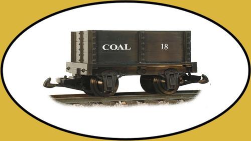 Hartland Locomotive Works Coal Mini Gondola 15113 G Scale Model Trains