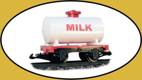 Hartland Locomotive Works Milk Tank Car 15431 G Scale Model Trains Railroads