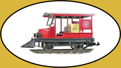 Hartland Locomotive Works Woody, Pacific Electric, Red 09213