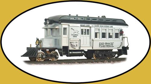 Hartland Locomotive Works 09200 Railbus Rio Grande Southern Silver