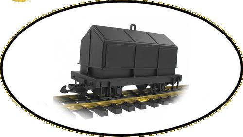 Hartland Locomotive Works Mini Covered Coil Car 15700 G Scale