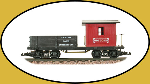 Hartland Locomotive Works Work Caboose Big John 05016 G Scale