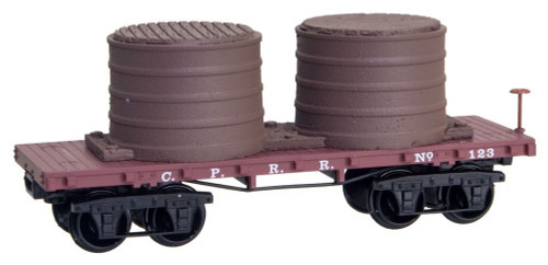 Central Pacific Railroad Civil War Tank Car Micro-Trains Line N Scale 15400090