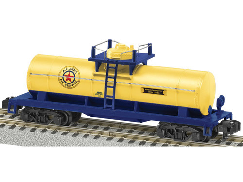 """6-48442 American Flyer Lines """"Air Service"""" Single Dome Tank Car S Gauge"""