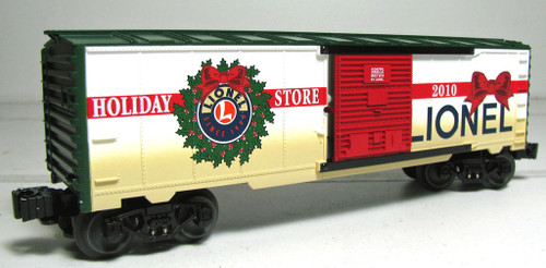 6-52575 Lionel Holiday Store Boxcar O Gauge