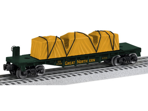 6-81206 Great Northern Flatcar O Gauge