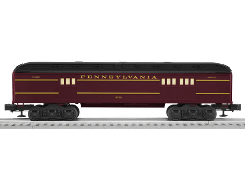 """6-81462 Pennsylvania """"Broadway Limited"""" Add-on baggage car O Gauge"""