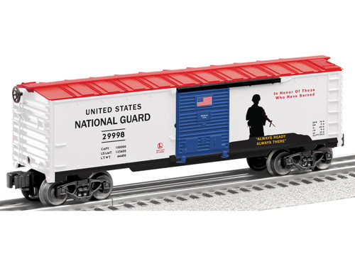6-29998 U.S. National Guard made in USA Boxcar