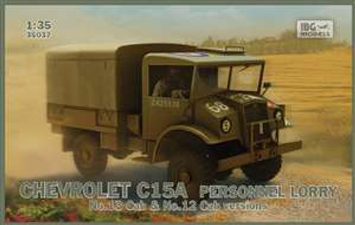 IBG Models Chevrolet C15A Personnel Lorry - IBG35037 1/35 Scale
