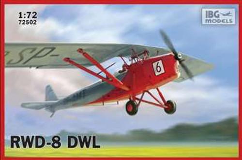 IBG Models 1/72 RWD-8 DWL Training Version - IBG72502