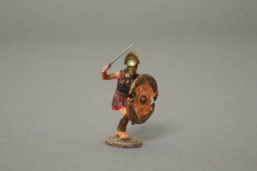 Thomas Gunn Miniatures Soldiers Greek Wars Cypriot Charging Eagle Heads XE005B