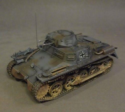 John Jenkins Designs Soldiers Tank WWII Panzerkampfwagen I Ausf A Germany GA-10A