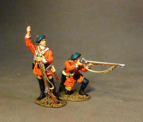 John Jenkins Designs BRLX-04 The Battle of Bushy Run Light Infantry Company Skirmishing