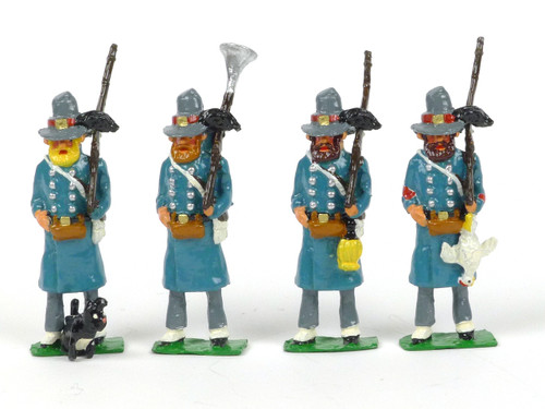 Garibaldi & Co Toy Soldiers L14 Roman Republic 1849 Marching at the Slope