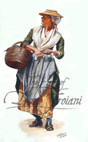 Colonial Woman - American Revolution