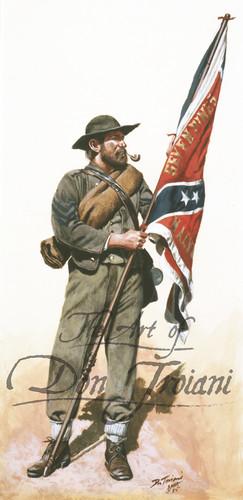 11th Mississippi Color Bearer - American Civil War