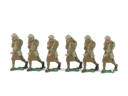 Authenticast Comet British Infantry Soldiers Marching 1944 Winter Dress