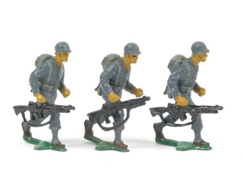 Authenticast Comet Infantry in Action 1946 Blue Uniform