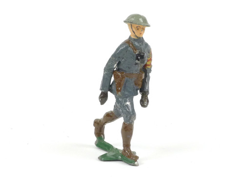 Authenticast Comet Officer Walking 1918 World War I