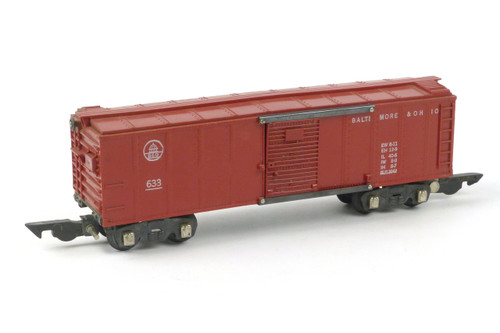 American Flyer A C Gilbert Baltimore & Ohio S Gauge Train 633 Box Car