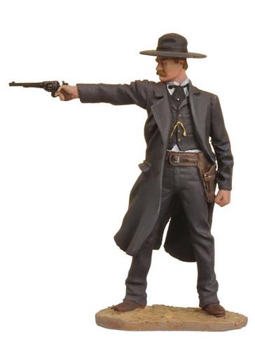 Black Hawk Toy Soldiers Wyatt Earp Figure FW-0301