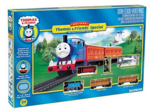 Bachmann Trains 00644 Deluxe Thomas & Friends Ready to Run HO Scale Model Train Set