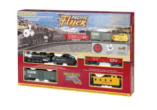Bachmann Trains 00692 Union Pacific Flyer Freight Set HO Scale