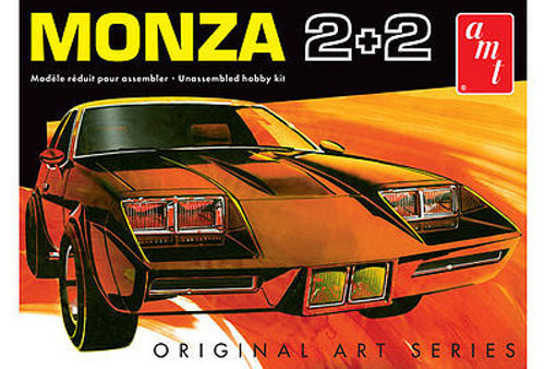 AMT Plastic Models 1019 1977 Chevy Monza 2+2 Custom 1/25 Scale