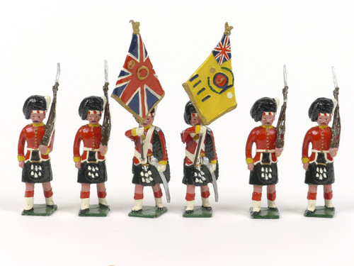 Blenheim Military Models B43 Argyll & Sutherland Highlanders Colours 1914