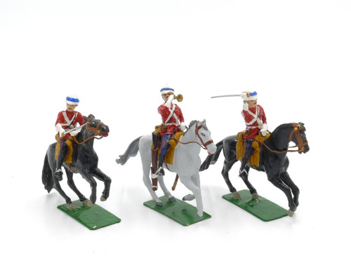 Alymer Toy Soldiers Set AB-57 Life Guards Charging, Egypt 1882