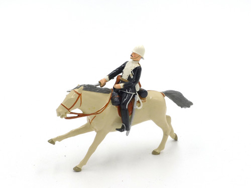 Imperial Toy Soldiers Set 40 Mounted Officer 17th Lancers, 1879