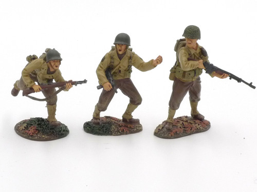 WBritain 17822 WWII Breakout 1944 US 30th Infantry Division