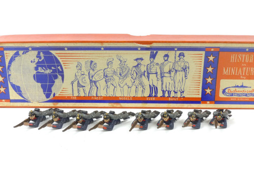 Authenticast Toy Soldiers Set 701 German Infantry Lying Firing 1890